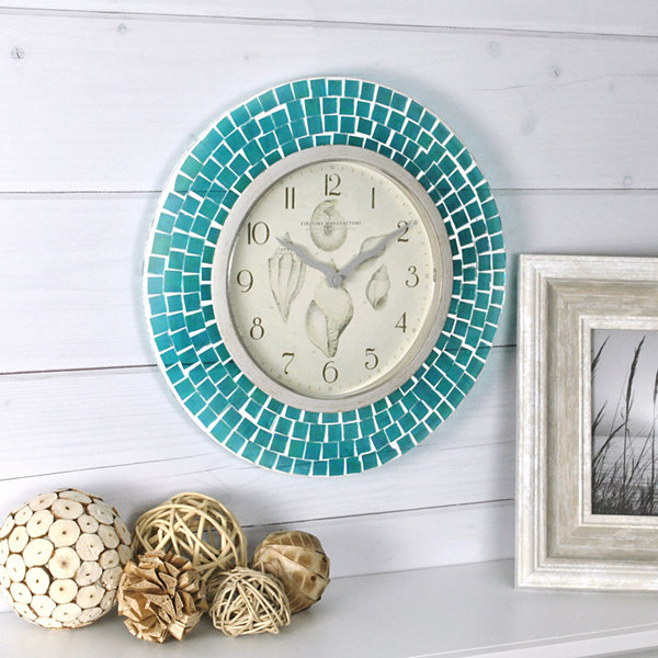 FirsTime® Mosaic Wall Clock
