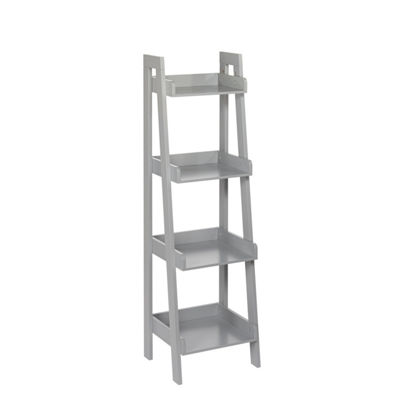 RiverRidge Home Amery Collection 4-Tier Ladder Shelf