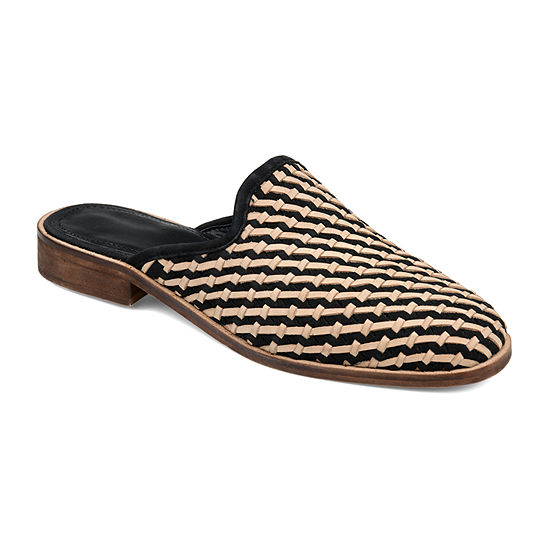 Journee Signature Womens Perri Slip-On Shoe Square Toe