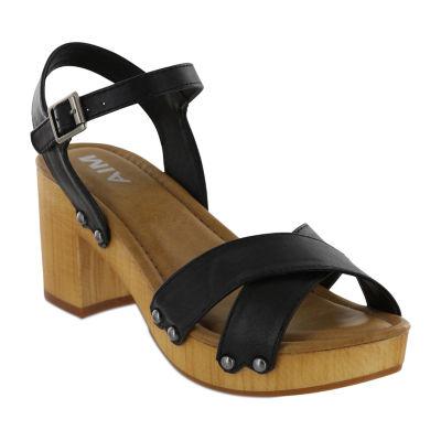 Mia Girl Womens Brennyn Heeled Sandals