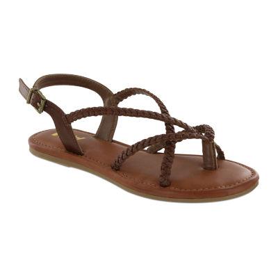 Mia Girl Womens Alejandra Flat Sandals