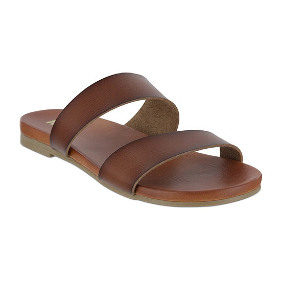 Mia Girl Womens Agenis Slide Sandals