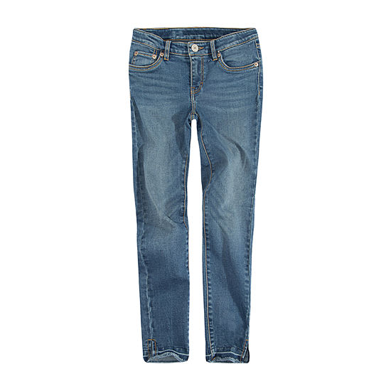 Levi's 710 Lola Ankle Super Skinny Jean Girls Skinny Fit Jean Preschool / Big Kid