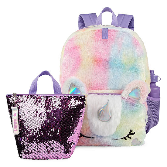 All Over Fur Unicorn Backpack