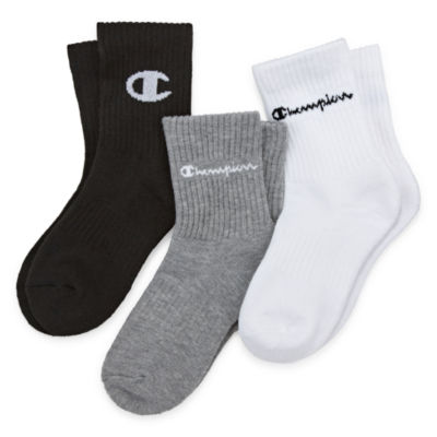Champion Socks 3 Pair Crew Socks