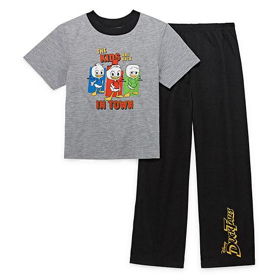 2-pc. Duck Tales Pajama Set Preschool / Big Kid Boys