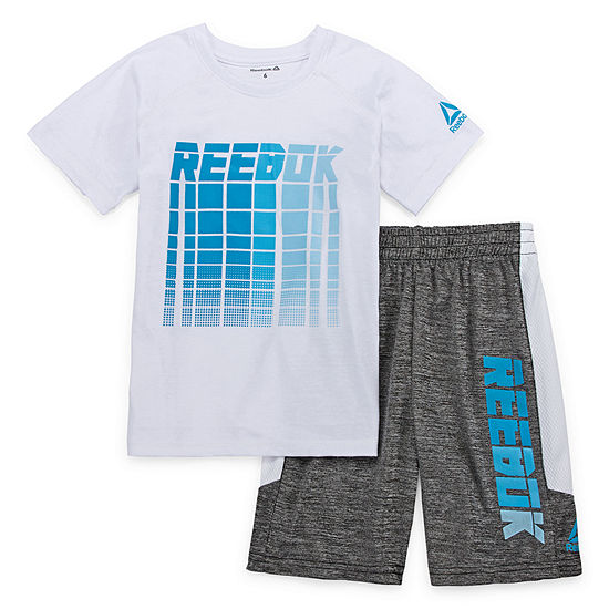 Reebok Boys 2-pc. Short Set Preschool