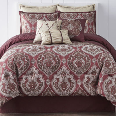 JCPenney Home Carson 7-pc. Comforter Set