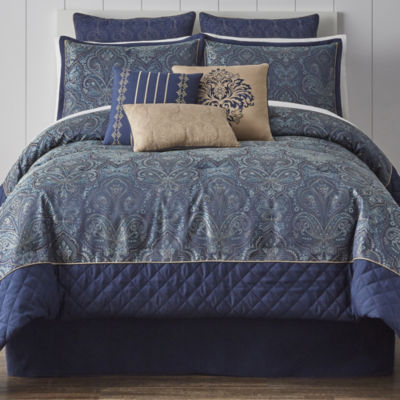 JCPenney Home Glenwood 7-pc. Jacquard Comforter Set