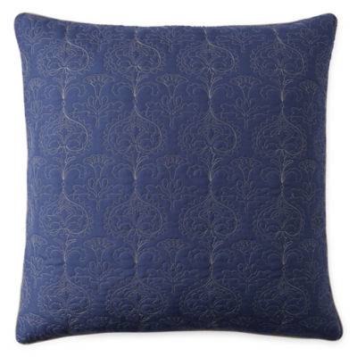 JCPenney Home Glenwood Paisley Euro Pillow