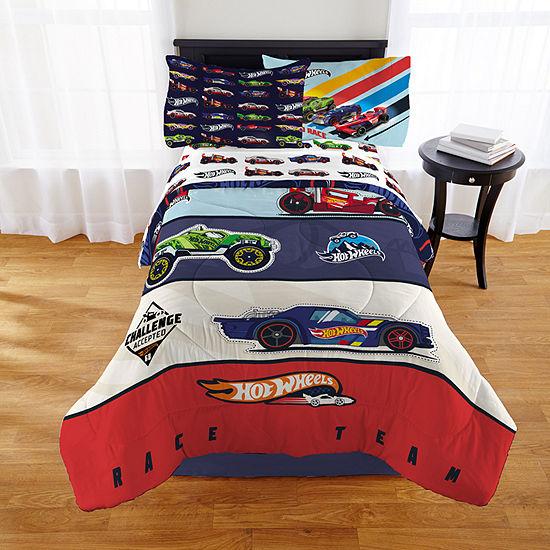 Hot Wheels Midweight Comforter Set