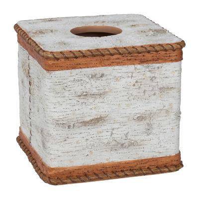 Hautman Brothers White Birch Tissue Box Cover