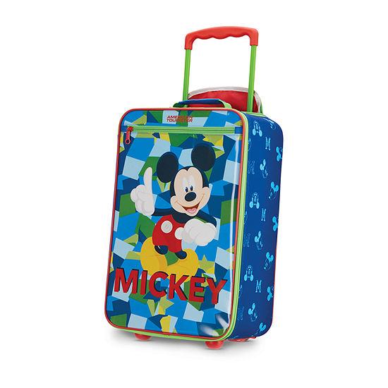 American Tourister Disney Kids Softside 18 Inch Lightweight Luggage