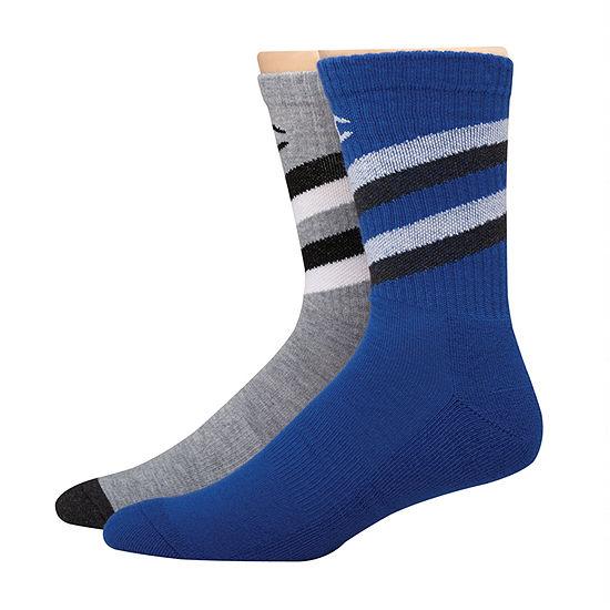 Mens Champion 2 Pair Crew Socks
