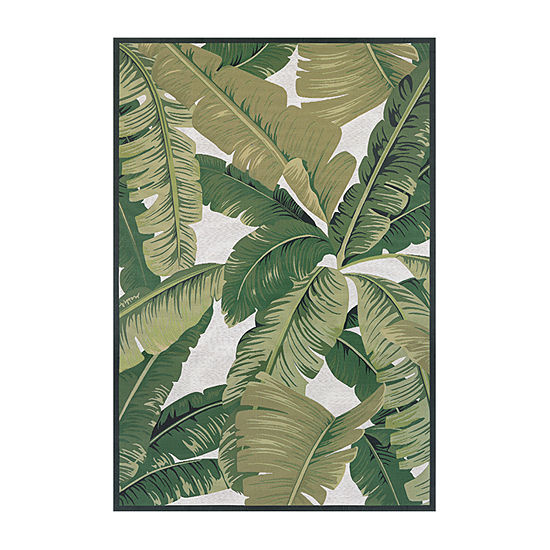 Couristan Palm Lily Rectangular Indoor/Outdoor Rugs