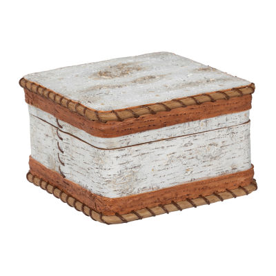 Hautman Brothers White Birch Bathroom Organizer