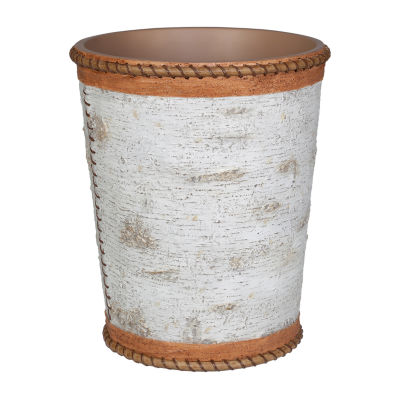 Hautman Brothers White Birch Waste Basket