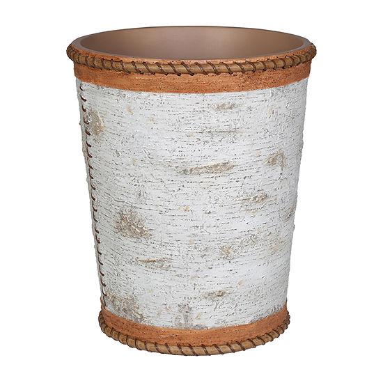 Hautman Brothers White Birch Waste Basket