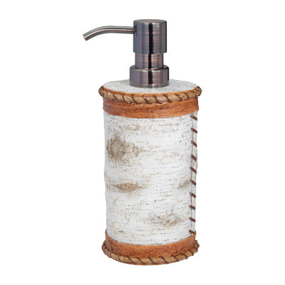 Hautman Brothers White Birch Soap/Lotion Dispenser