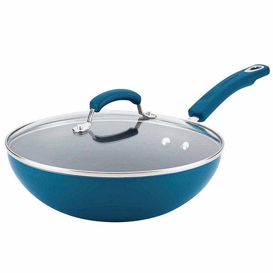 "Rachael Ray 11"" Covered Stir Fry Pan"
