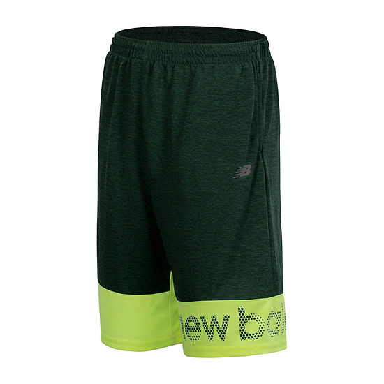 New Balance Boys Mid Rise Elastic Waist Basketball Short Preschool / Big Kid