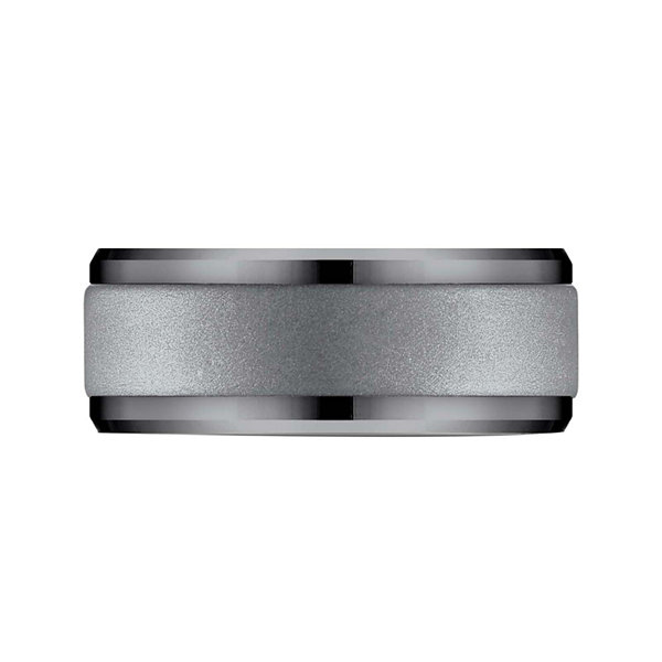 Mens 9mm Tantalum Wedding Band