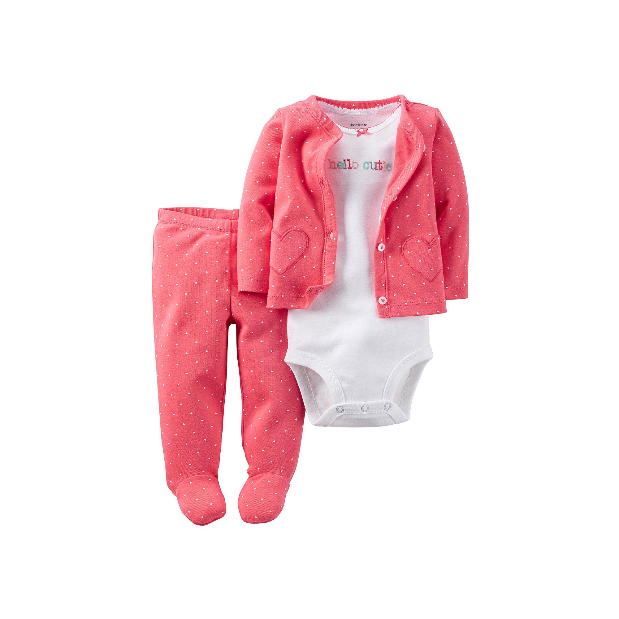 a42e91ecbd86 UPC 888767678003 - Carter s® Baby Girls  3-Piece Hello Cutie Polka ...