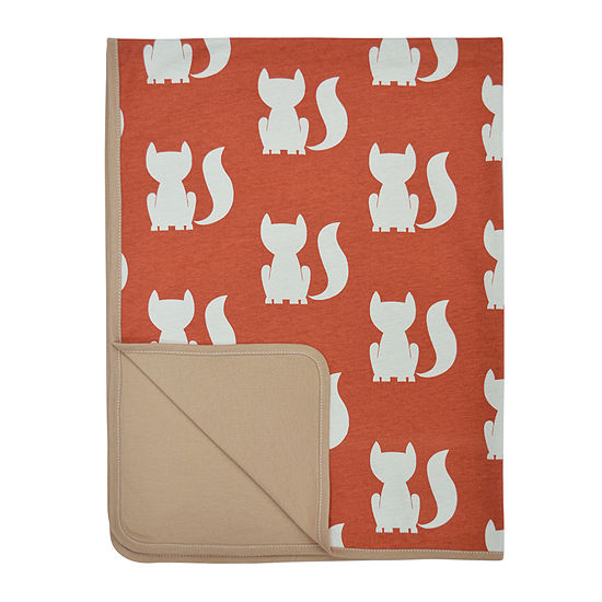 Little Haven Clever Fox Blanket