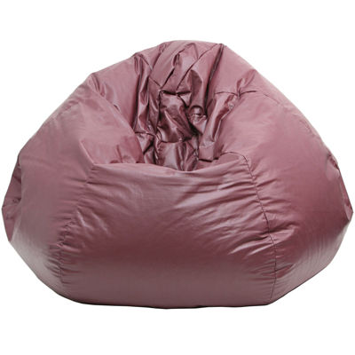 Oversized Leather Look Beanbag Chairs