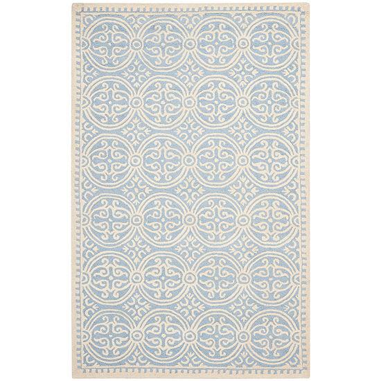 Safavieh® Iris Wool Rectangular Rug