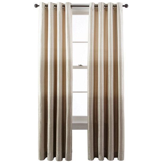 Liz Claiborne Dylan Ombré Grommet-Top Curtain Panel