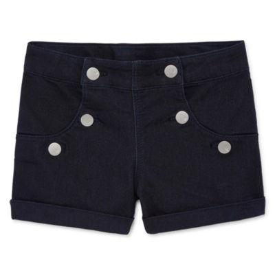 Total Girl Pull-On Shorts Big Kid Girls