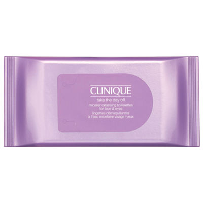 CLINIQUE Take The Day Off Micellar Cleansing Towelettes for Face & Eyes