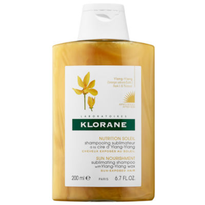 Klorane Sun Nourishment Subliminating Shampoo with Ylang-Ylang Wax