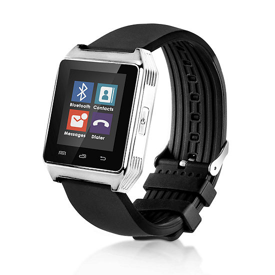 Q7 Limited Time Special! Black/Silver Smartwatch