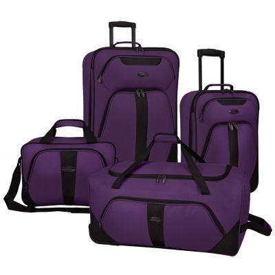 Rolling 4-pc. Luggage Set