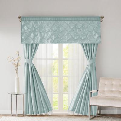 510 Design Tatiana Solid Soft Sheen Faux Silk Room Darkening Rod-Pocket Curtain Panel