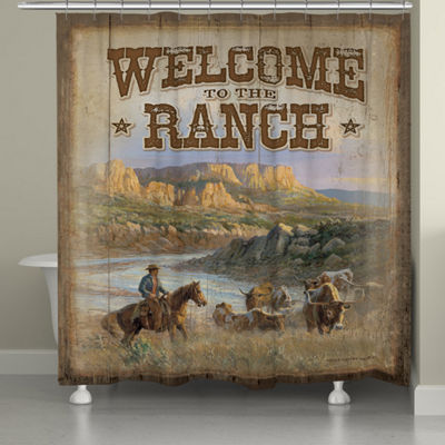 Laural Home Canyon Ranch Shower Curtain