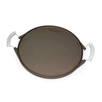 "Victoria 12.5"" Round Iron Griddle Cast Iron Griddle"