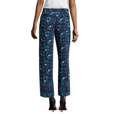 Liz Claiborne Belted Pant - Tall Inseam 29""