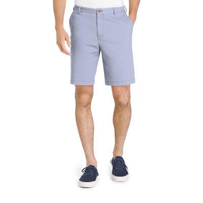IZOD Saltwater Stretch Flat Front Chino Shorts