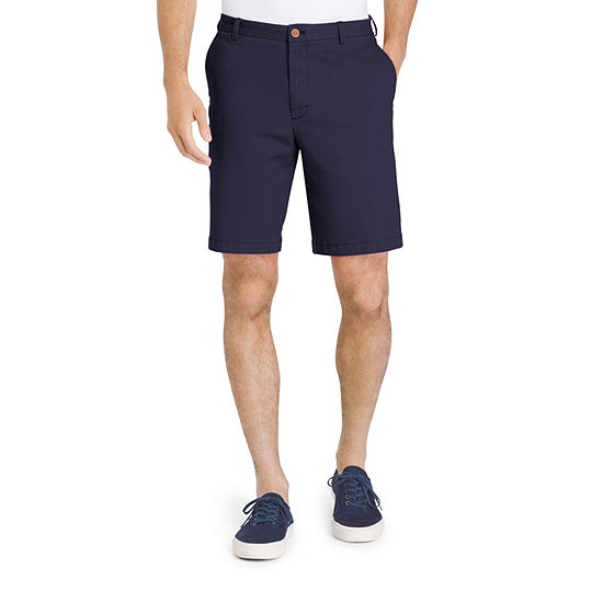 05984534f2f5 IZOD Saltwater Stretch Flat Front Chino Shorts JCPenney
