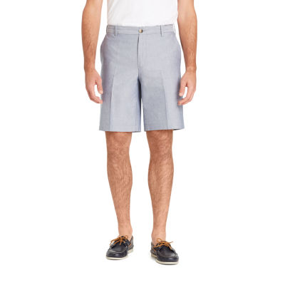 IZOD Mens Mid Rise Stretch Chino Shorts