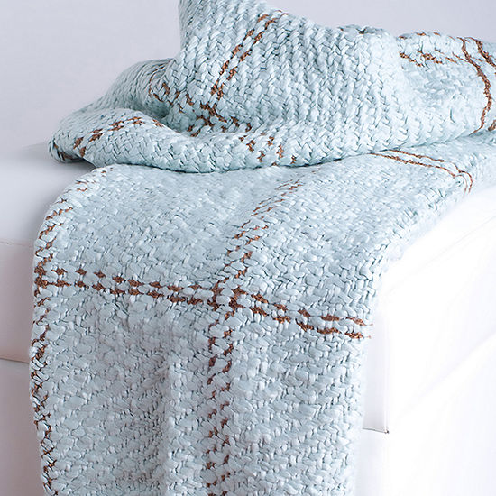 Rizzy Home Jeremy Transitional Oversized Plaid  Throw