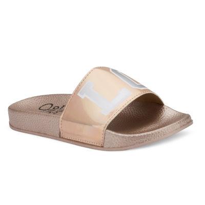 Olivia Miller Carrie Girls Slide Sandals - Little Kids/Big Kids