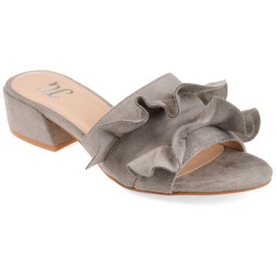 Journee Collection Womens Jc Sabica Heeled Sandals