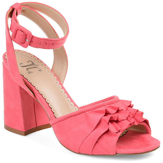 Journee Collection Womens Jc Becca Heeled Sandals