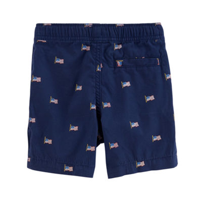 Carter's 4th Of July Pull-On Shorts Preschool Boys