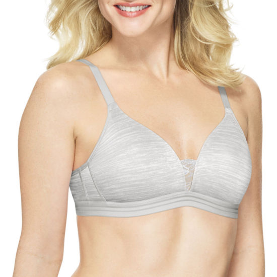 Hanes Comfortblend® Cool Comfort™ Foam Wireless T-Shirt Full Coverage Bra-Dhhb40