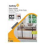 Safety 1st Easy Install Décor Tall & Wide Baby Gate